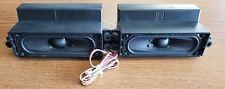 GENUINE VIZIO E420VO LCD TV SPEAKER SET 0335-1006-4891 - EXCELLENT USED