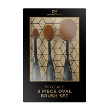 DESIGNER BRANDS PRO FACE OVAL BRUSH SET 3 PIECE