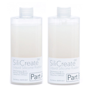 SiliCreate UltraSoft Liquid Silicone Rubber Fleshy/Prop Making - 1Kg/2Kg/4Kg/8Kg