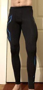 2XU Men's Compression Tights Multicolor Medium Tall - Pre Owned