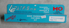 Vintage HO Scale Limited Editions 7422 Metal Chair Passenger Car Body Kit NIB