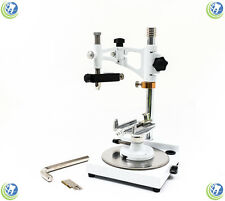 DENTAL LAB PARALLEL SURVEYOR VISUALIZER W/ HANDPIECE HOLDER & 7 SPINDLE TOOLS