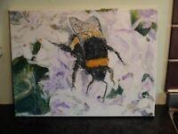 Bee by Lee Pearson . Oil on canvas 2008