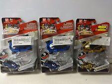Bandai Power Rangers Super Samurai Lot of 3 Action Figures MIP Water X2 Light