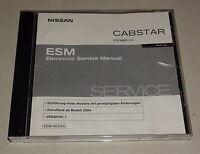 Manual de Taller Auf CD Nissan Cabstar Tipo Tlo Stand 01/2004