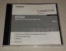 Werkstatthandbuch auf CD Nissan Cabstar Typ TLO Stand 01/2004