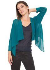 Damenblusen, - tops & -shirts im Bolero Normalgröße-Stil aus Chiffon