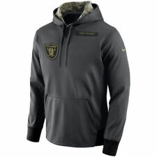 Nike Oakland Raiders 2016 Salute to Service Hoodie NFL STS New Mens 2XL