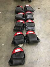 4 Pairs Wilkuro Canada Safety Toes Shoe Covers Size Large (US 10 or 11) Red