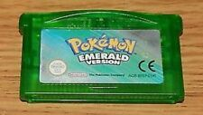 Pokemon EMERALD Version Games for GBA/ Nintendo DS (LIKE NEW EURO VERSION)