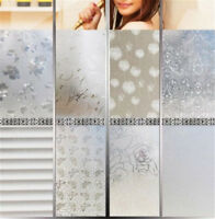 45CMx2M PVC Waterproof Privacy Bedroom Bathroom Frosted Window Film Sticker