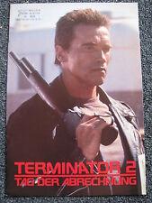 Neuer Filmkurier-Nr.410-Terminator 2-Arnold Schwarzenegger-Austria