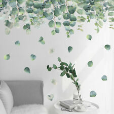 Tropical Leaves Plant Wall Stickers Vinyl Decal Nursery Decor Art Mural Gift S9