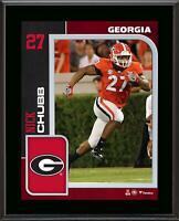 Nick Chubb Georgia Bulldogs 10.5'' x 13'' Sublimated Player Plaque - Fanatics