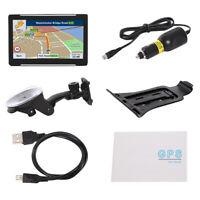 7 Inch 256Mb 8G Hd Capacitive Screen Portable Gps Car Car Navigation System I7Y5