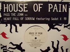 "HOUSE OF PAIN + SADAT X - PASS THE JINN / HEART FULL OF SORROW (12"")  1996!!!"