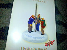 HALLMARK Keepsake 2006 I DOUBLE DOG DARE YA! Flagpole Ornament A CHRISTMAS STORY