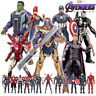 "Kids Toy Marvel Avengers Endgame Iron Man Thanos Thor Captain 7"" Action Figures"