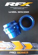 Husqvarna Bujes de distancia Espaciadores Rueda delantera Azul TE TC 125 250 15
