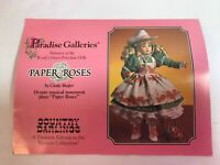 Paradise Galleries Treasury Collection Premiere Edition Doll Paper Rose