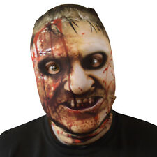 Blood Stained Violent Offender Design 3D Effect Face Skin Lycra Fabric Face Mask