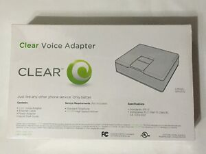 CLEAR Voice Adapter router model SPA2102-SF NEW in box plastic wrapped