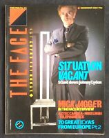 The Face Magazine No. 44 John Lydon Mick Jagger Aztec Camera Mike Leigh