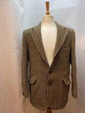 Harris Tweed Houndstooth Pattern Men's Jacket 42inch Chest
