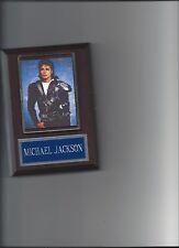 MICHAEL JACKSON PLAQUE MUSIC POP ROCK & ROLL