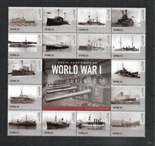 """GUYANA - 2015 MNH """"World War I Royal Navy SHIPS"""" Souvenir Sheet (II) !!!"""