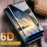 6D Screen Protector For Samsung Galaxy S8 S9 Plus Note 9 8 9H Tempered Glass