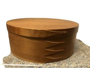 Shaker Oval Box  Handcrafted Woodworks Canterbury NH Excellent