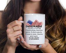 Deplorable Definition Pro Trump Coffee Mug Make America Great Again Coffee Cup