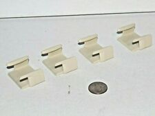 SureTrack Clips for Wooden Railway Train Track Lot x4 - works w/ Thomas, Brio