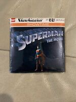 SUPERMAN THE MOVIE 3d View-Master GAF 3 picture Reels SEALED NIP 1978 J78
