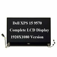 For Dell XPS 15 9570 Precision 5530 FHD LCD Screen Assembly Matte 1920x1080