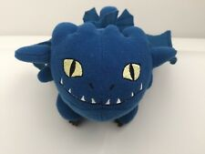 "5"" Blue Night Fury How To Train Your Dragon Mini Stuffed Plush Smacker Sound"