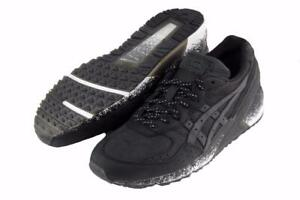 New Limited Edition Asics Gel-Sight Men's Shoes Size 7 Black/Black H62LK-9090