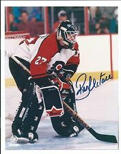 Ron Hextall, Philadelphia Flyers, Signed 8 x 10, Game Action Photo, w/COA/Seal