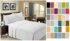 "Bamboo Sheet Set 6 pc 18"" Deep by LuxClub - Full Queen King California 30 Colors"