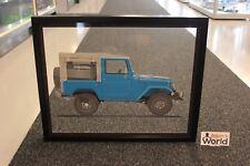 Halmo framed print on plexiglass, Toyota BJ40 (50 x 40 cm) #3 / 99 pcs