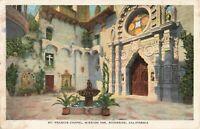 Postcard St Francis Chapel Mission Inn Riverside California