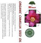 ORGANIC CAMELLIA / CAMELIA SEED OIL Massage COLD PRESSED 100 PURE 2 - 4 OZ.