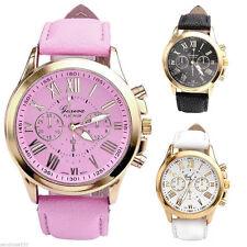 Runde Geneva Armbanduhren mit 12-Stunden-Zifferblatt