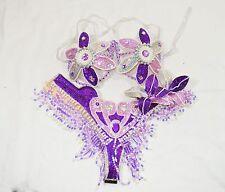 BRAZILIAN carnival SAMBA BIKINI WAISTBAND BRA CABARET dance COSTUME/SHOWGIRL