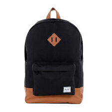 a76e8694b45 Herschel Supply Co. Company BRAND Heritage Black W  Tan 21l 21 L Backpack