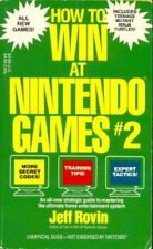 How to Win at Nintendo Games 2 by Jeff Rovin