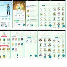 Pokémon Go Account Level 48 | 1.518 Shiny | 628 Legendary | 314 Iv 100 (RARE)