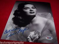 ANN BLYTH SIGNED SEXY 8X10 PHOTO 2 AUTHENTIC PSA DNA CERTIFIED