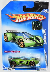 HOT WHEELS 2009 FASTER THAN EVER LOTUS CONCEPT #08/10 GREEN FACTORY SEALED